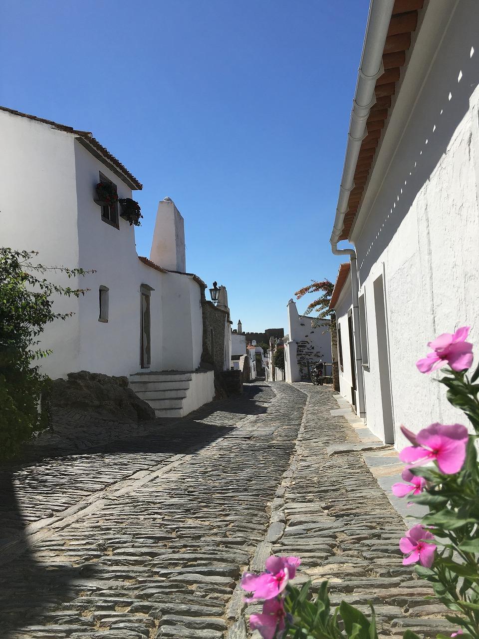 石畳の街並み