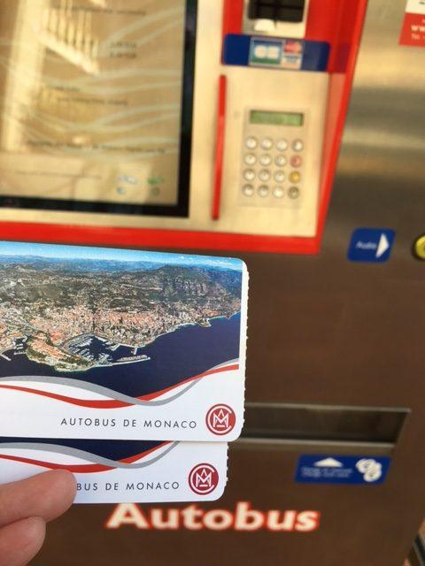 モナコ市内バス