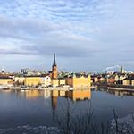 コペンハーゲンからスウェーデンへの入国、スウェーデン国内の鉄道移動