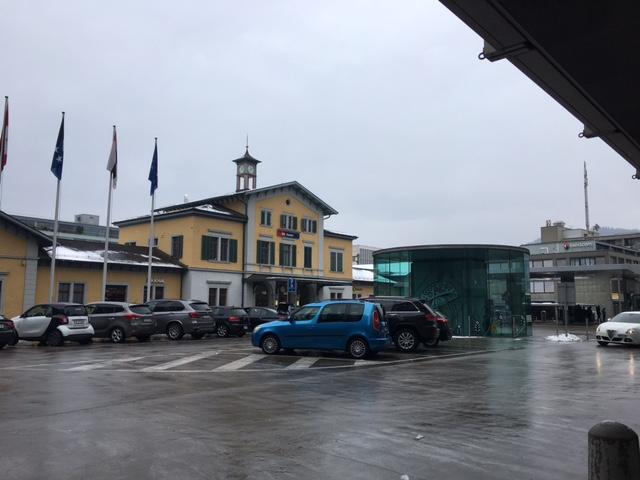 郵便局の立地