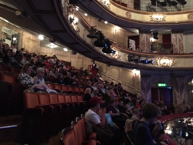 ロンドンでミュージカル