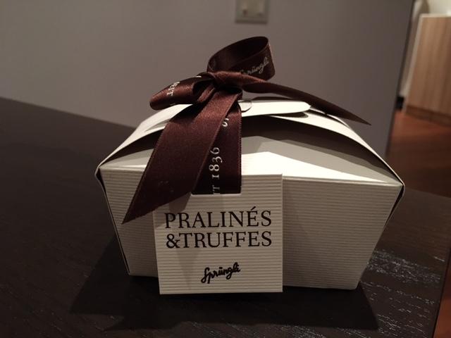 Sprungliのチョコレート