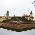 ベラルーシの世界遺産「ニャシュヴィシュ城」と「ミール城」へ