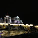 マケドニア・スコピエの街歩き