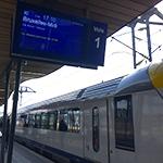 ルクセンブルクからブリュッセルへの移動