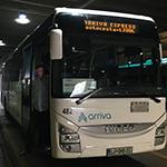 トリエステからリュブリャナへの移動はバスがおすすめ