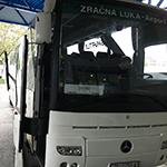 ザグレブ市内~空港はバスが便利