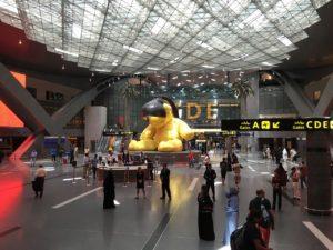 ドーハの空港